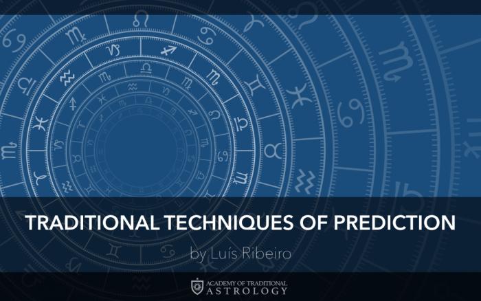 Predictive Techniques Course (March 2020)